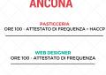 PASTICCERIA e WEB DESIGNER IN PARTENZA AD ANCONA!